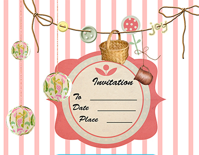 Wonderful Spa Party Invitations