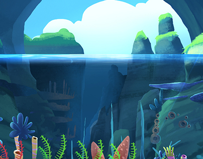 Background for a mobile game