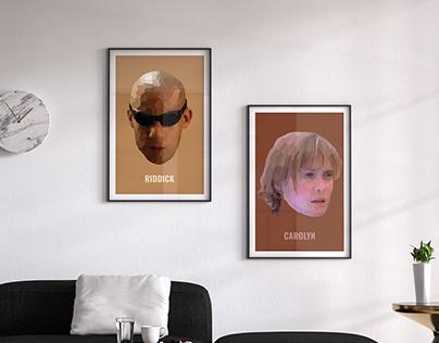 Riddick Posters
