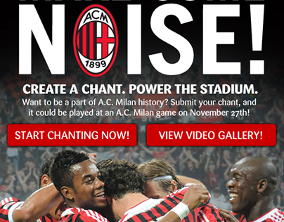 Amway | AC Milan Make Some Noise Contest