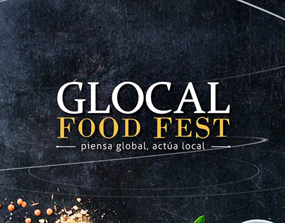 GLOCAL FOOD FEST // IDENTIDAD VISUAL