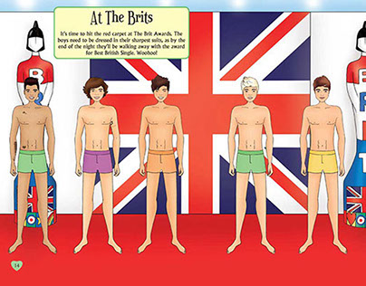 Dress Up One Direction - Buster Books