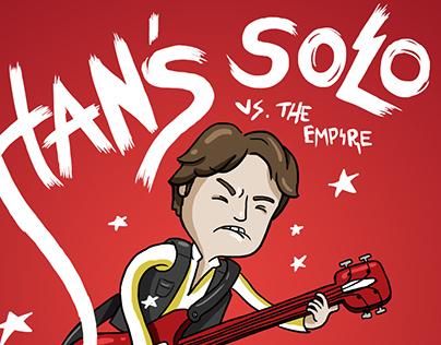 Han's solo - star wars / scott pilgrim crossover