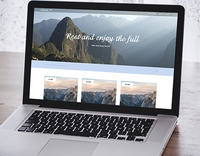The site for travel company