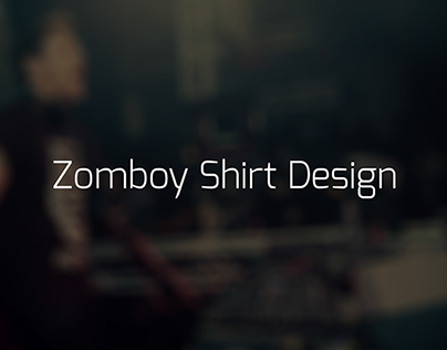 A Very Simple Zomboy Shirt Design