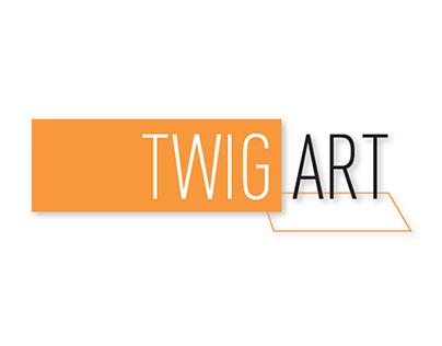 Branding Twig Art