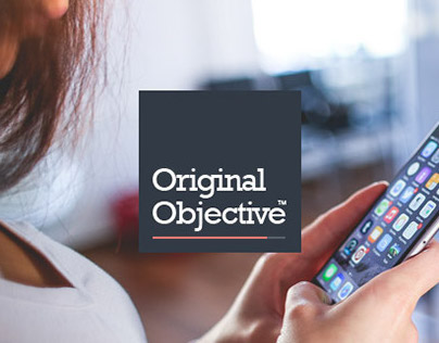 Original Objective logo development