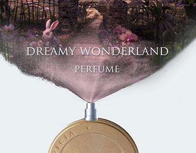 Campaign for Lupicia perfume