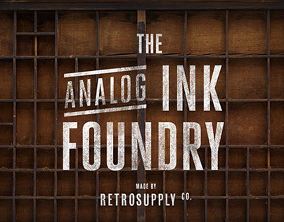 The Analog Ink Foundry - Photoshop Texture Kit