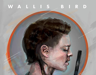 Digital Painting - Wallis Bird