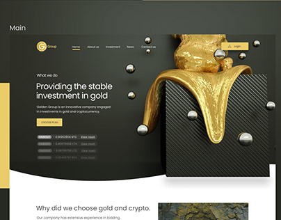 Golden Group Investment Company Website