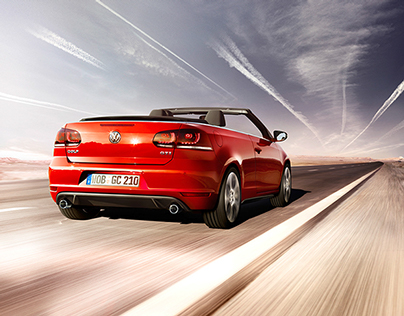 Volkswagen Golf GTI cabriolet - Print launch campaign