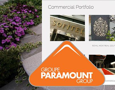 Group Paramount Website Design