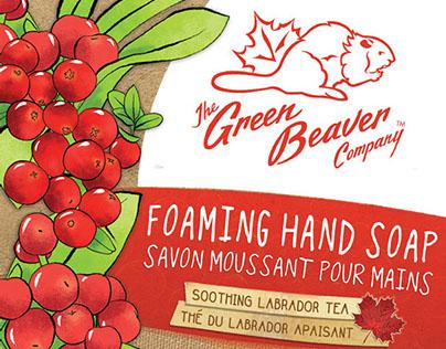 Green Beaver Handwash Packaging Design