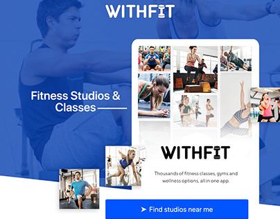Withfit - Fitness Studios & Classes