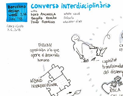 Graphic recording_ESDAP_Barcelona Design Week