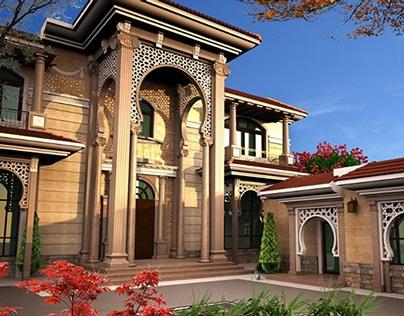 Interior Design Jobs Qatar Villakhaledexteriordesignindoha Qataronbehance