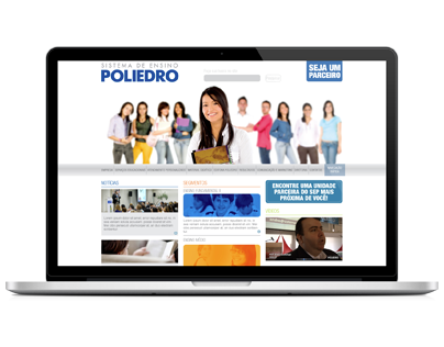 Site Sistema de Ensino Poliedro