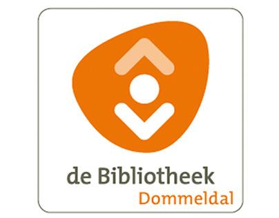 Grafisch ontwerpwerk voor Bibliotheek Dommeldal