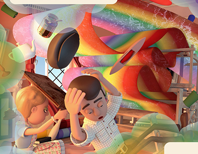 Concream Children's Book Illustration
