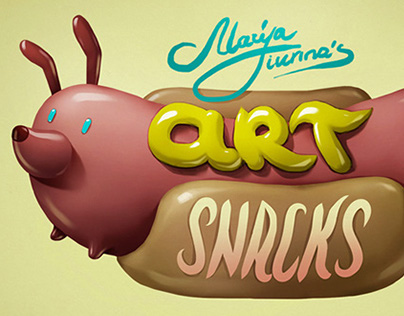 Art Snacks - a new juicy set for NeonMob