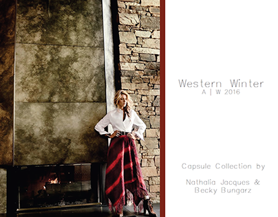 Western Winter - Collaborative work with Becky Bungarz