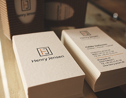 Henry Jensen - Rebranding