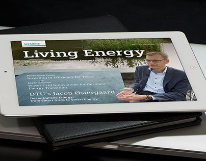 Digitales Magazin: Siemens »Living Energy«