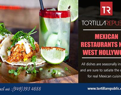 Mexican Restaurants Near West Hollywood
