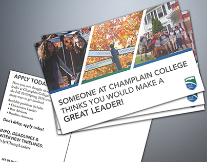 Leadership Recruitment Postcards