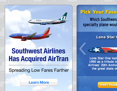 Southwest Airlines | More Luv