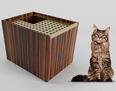 BATHROOM CAT