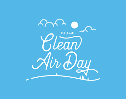 Clean Air Day Illustration