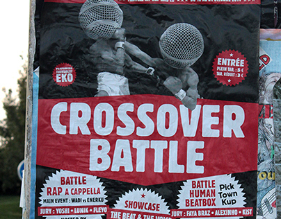 Affiche crossover battle