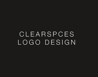 ClearSpaces Logo Design