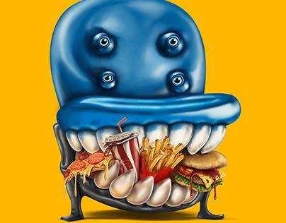 Hungry Armchair