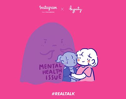 Instagram #REALTALK campaign