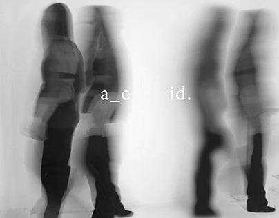 acid -- SS15 (Lookbook and Design Process )