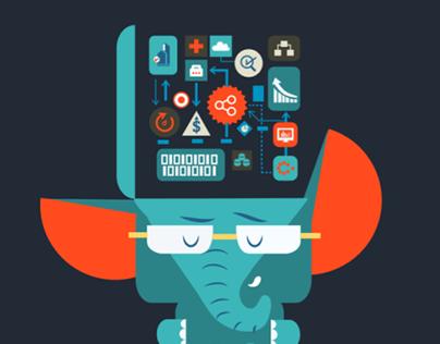 Fifth Elephant 2014- Branding and Illustration