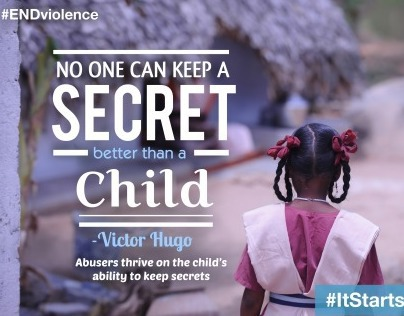 Unicef's #ItStartsWithMe campaign