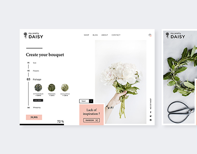 Create custom bouquet