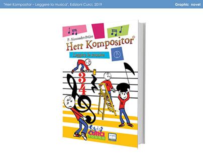Colori e sfondi graphic novel Herr Kompositor (2019)