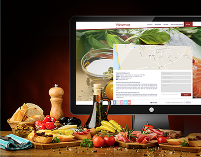 Yakamoz Restaurant Web Design