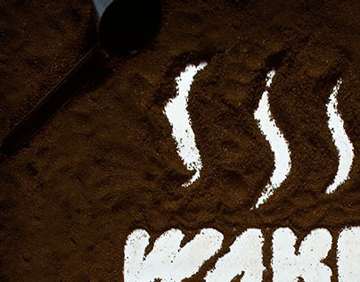 Koffie typografie