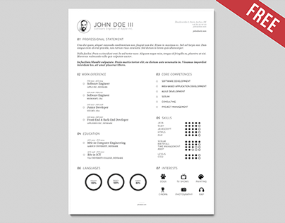 Resume Template | Version III