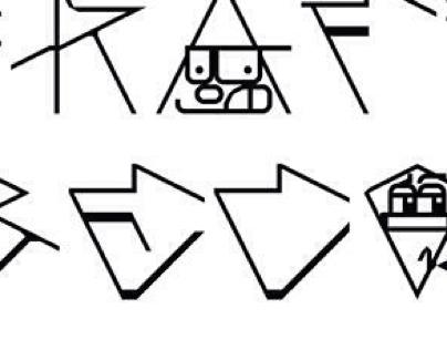 Tipografia do beco