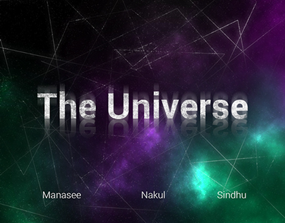 Motion Graphics Project: The Universe