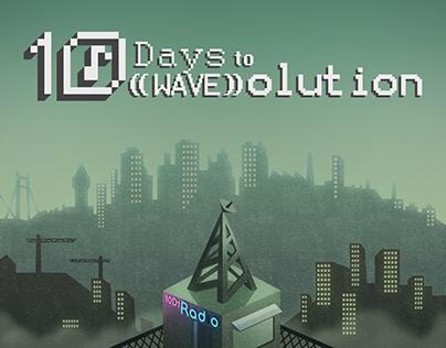 GAME ART - 10 Days to ((WAVE))olution (Gamejam Game)