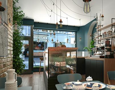 Coffee Shop in London, United Kingdom
