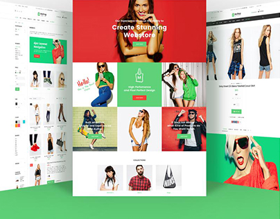 MyShop Shopify Website Theme for E-Stores